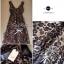 Lady Ribbon Sassy Leopard Maxi เดรสชีฟอง ลายเสือดาว thumbnail 8