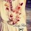 Lady Ribbon เดรสยาวปักลาย ขายพร้อมเข็มขัด thumbnail 5