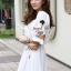 Seoul Secret Nifty Bohe Embroider Ivory Dress thumbnail 6