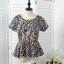 ชุดเสื้อพร้อมกระโปรงเข้าชุด ผ้าชีฟองเนื้อผสม พิมพ์ลาย thumbnail 9