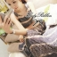 Lady Ribbon Floral Maxi Dress แมกซี่ชีฟองพิมพ์ลายลูกไม้ thumbnail 9