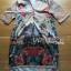 Lady Ribbon Dress เดรสผ้าซาตินลายดอกไม้ thumbnail 5