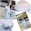 IceVanilla Mona Lace Stitch Soft Denim Dress thumbnail 2
