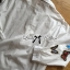 Lady Ribbon Butterfly Embroidered White Shirt thumbnail 8