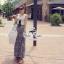 Odee Cutie ชุดเซ็ทเสื้อแขนกุด กระโปรงยาวผ้าชีฟอง thumbnail 6