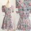 Lady Ribbon Blooming Pastel Dress เดรสพิมพ์ลายดอกไม้สีพาสเทล thumbnail 8