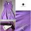 Lady Ribbon Viola Mini Dress มินิเดรสแขนกุด สีม่วง ลุคคุณหนู thumbnail 12