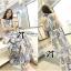 Lady Ribbon Maxi Dress เดรสยาวแขนกุด พิมพ์ลายเพสลีย์ thumbnail 5