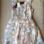 Lady Ribbon Vintage Dress เดรสชีฟอง ดีเทลหลังซีทรู thumbnail 9