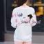 Seoul Secret ชุดเซ็ทเสื้อพิมพ์ลายสีพาสเทล กางเกงสีชมพู thumbnail 6