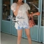 Lady Ribbon เสื้อลูกไม้สีขาว ดีเทลระบาย ปักฉลุลายดอก thumbnail 3