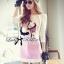 Lady Ribbon Sweet Little Girl Printed Embellished Pink Set thumbnail 1