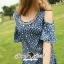 Seoul Secret Star Star Denim Dress thumbnail 3