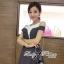 Lady Ribbon Chic Bold Dress เดรสตัดแต่งทรงสุดชิค thumbnail 3