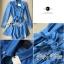 Lady Ribbon Dress เดรสเชิ้ตผ้าเดนิมสไตล์สาวออฟฟิศ thumbnail 8