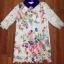 Cliona Lace Print Dress เดรสลูกไม้ ลายดอกไม้ ปกคอเชิ้ต thumbnail 5
