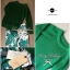 Lady Ribbon Green Knit Leaf Print Set เซ็ตเสื้อพร้อมกางเกง thumbnail 8
