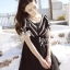 Icevanilla Romantic Black Lace Dress thumbnail 2