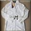 Lady Ribbon Shirt เสื้อเชิ้ตสีขาว แต่งผ้าลูกไม้น่ารัก thumbnail 7