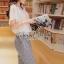 Seoul Secret ชุดเซ็ท เสื้อผ้าชีฟอง กางเกงทรง Halem thumbnail 5