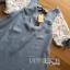 Lady Ribbon Lace-Sleeve Mini Dress with Ribbon thumbnail 8