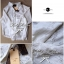 Lady Ribbon Floral Lace Shirt เสื้อเชิ้ตแขนยาว ลูกไม้ซีทรู thumbnail 8