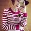 Seoul Secret Korea Chicly Stripe Maxi Knit thumbnail 7