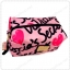 &#x2764️ VS Signature Print Pink with Black Cosmetic Pouch thumbnail 2