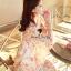 Seoul Secret Chiffon Pink Sakura Dress thumbnail 5