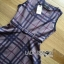 Lady Ribbon British Check Printed Beige Dress thumbnail 6
