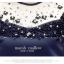 Marsh Mallow Jewels and Beaded Navy Blue Luxury Dress thumbnail 4