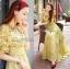 Lady Ribbon Vintage Fabulous Chiffon Off-shoulder Maxi thumbnail 2