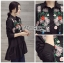 Lady Ribbon เสื้อเชิ้ตยาวปักลายดอกไม้ thumbnail 3
