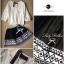 Lady Ribbon Black Graphic Skirt กระโปรงสีดำ ทอลายกราฟฟิก thumbnail 6