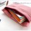 Bank Pouch กระเป๋าใส่สมุดบัญชี , บัตร ATM , เงินสด , ตรายาง thumbnail 6