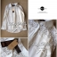 Lady Ribbon White Lace Shirt เสื้อเชิ้ตสีขาว แต่งลูกไม้ thumbnail 13