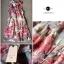 Lady Ribbon Rosalyn Dress เดรสลายดอกไม้ พร้อมริบบิ้นผูกเอว thumbnail 13