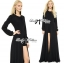 Lady Ribbon Glam Chic Evening-wear Maxi Dress thumbnail 6