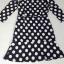 Black & White Dot Dress เดรสสีดำลายจุดสีขาว ทรงเข้ารูป thumbnail 13