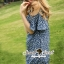 Seoul Secret Star Star Denim Dress thumbnail 7