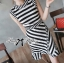 Lady Ribbon Lady Charlies Mix Striped Monochrome Dress thumbnail 7