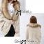 Lady Ribbon เสื้อคลุมผ้าถักนิตไหมพรมและเฟอร์ thumbnail 2