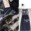 Lady Ribbon Chiffon Lace Maxi Dress เดรสยาวตัดต่อผ้าชีฟองและผ้าลูกไม้สไตล์วินเทจ thumbnail 7
