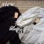 Lady Ribbon เสื้อผ้าคอตตอนตัดต่อผ้าลูกไม้ช่วงแขน สีขาว สีดำ thumbnail 8