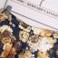 ZARA กางเกงขายาวเข้ารูป ผ้าพิมพ์ลายดอก ไซส์ S, M, L thumbnail 5
