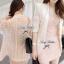 Lady Ribbon Lace Blazer เสื้อสูท ดีเทลลูกไม้ด้านหลัง thumbnail 2