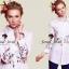 Charlotte Embroider Shirt by Seoul Secret thumbnail 4
