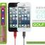 สายชาร์จหุ้มตาข่ายอย่างดี Lightning สำหรับ iphone 6, ipad mini 3, ipad air ยี่ห้อ GOLF thumbnail 4