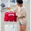 Colorful Duffel Bags กระเป๋าเดินทางพับได้ thumbnail 7