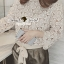 Seoul Secret Creaming Flora Lace Bow Blouse thumbnail 6